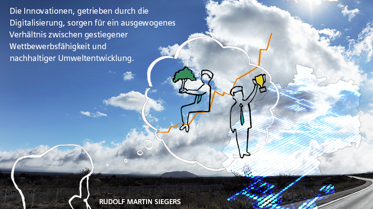 Graphic Recording Siemens Digitalisierung Innovationsland Deutschland