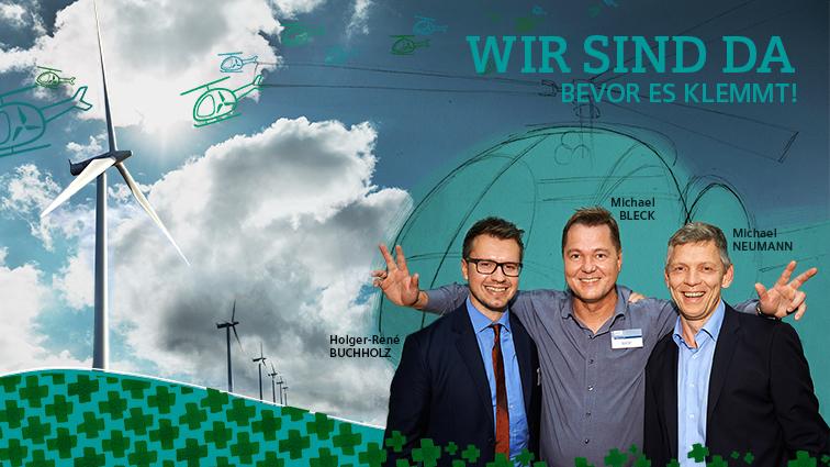 Live Event-Illustration auf Veranstaltung von Siemens: Graphic Recording Windenergie